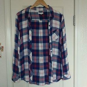 Women's Plaid Oversized flannel